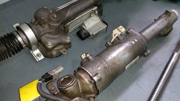 Устройство электрических рулевых реек. Неисправности изображение 1