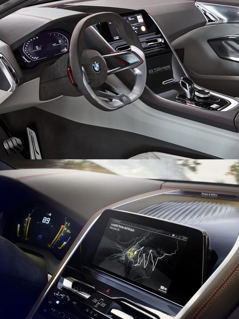 Интерьер BMW 8-Series Concept. Источник картинки сайт cardesign.ru