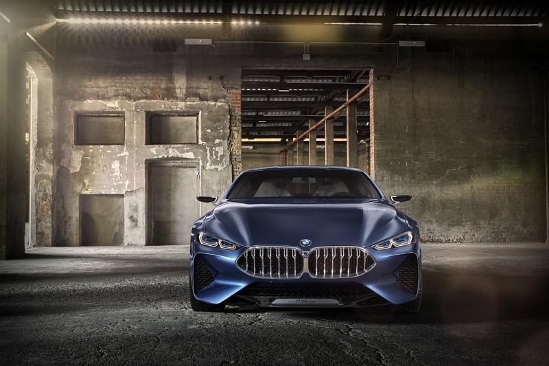 BMW 8-Series Concept видспереди. Источник картинки сайт cardesign.ru