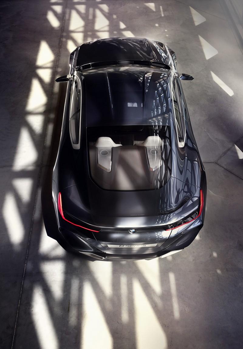BMW 8-Series Concept видсверху. Источник картинки сайт cardesign.ru