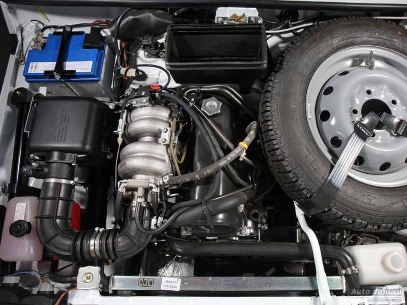 Двигатель 1,7 от LADA 4x4