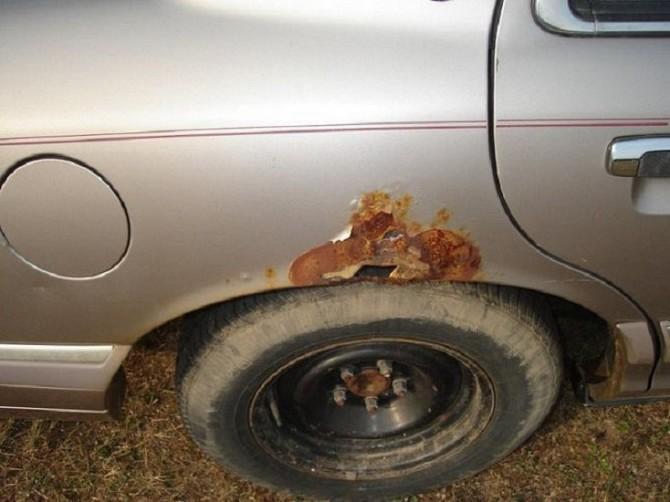 Как сделать эффект ржавчины на авто